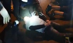 SMP: delincuentes asaltaron a hinchas que veían el Perú vs Chile