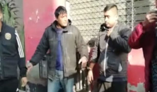 Capturan a 'Los raqueteros de la Túpac Amaru' tras robar a escolar