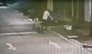 Callao: cámaras captaron cómo joven es acorralado y asesinado a balazos