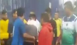 Chorrillos: policías habrían agredido a menores por cancha de fútbol