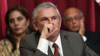 PJ decide hoy si dicta impedimento de salida del país para Luis Castañeda