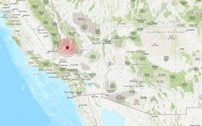 EEUU: terremoto de 6,6 grados remeció el sur de la ciudad de California