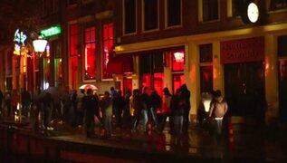 Holanda: alcaldesa de Ámsterdam quiere cerrar el famoso Barrio Rojo
