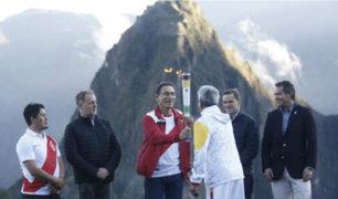 Juegos Panamericanos: presidente Vizcarra y alcalde Muñoz participaron en encendido de antorcha