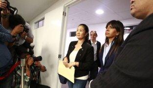 Sala evalúa hoy casación que busca libertad de Keiko Fujimori