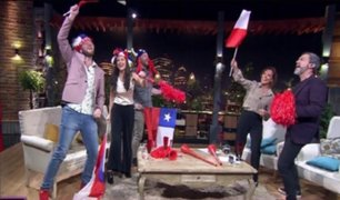 Programa chileno grabó secuencia con la 'Roja' como finalista de Copa América 2019