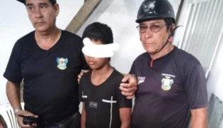 Iquitos: menor de 13 años asesinó a estibador porque se habría burlado de él