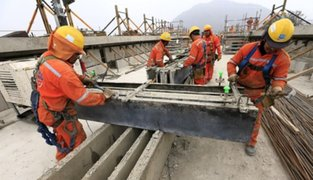 Coronavirus: obreros ponen sus esperanzas en reactivación del sector construcción