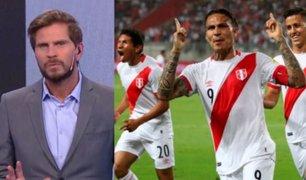 """'Pollo' Vignolo: """"Dios quiera que gritemos Perú campeón"""""""