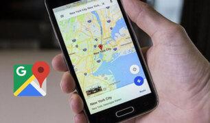 Reportan caída de Google Maps en varios países del mundo