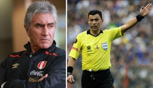 Copa América 2019: Oblitas considera falta de criterio designación de árbitro chileno