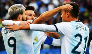 Argentina vs Chile: dos golazos dan el tercer puesto a la albiceleste a los 22'