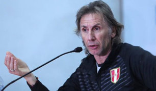 Ricardo Gareca habló esta tarde sobre la posibilidad de dirigir a Argentina