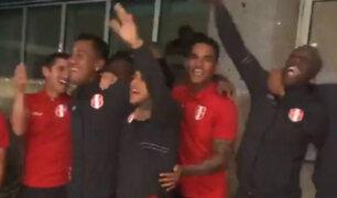 Perú vs. Brasil: así fue el banderazo de hinchas y jugadores de la selección en Río
