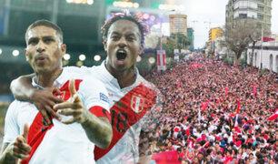 Perú Subcampeón: hinchas de la Blanquirroja celebran en las calles de Lima