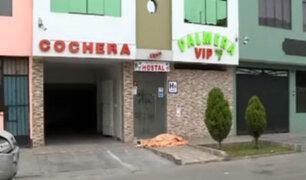 Los Olivos: hallan cadáver de un hombre en puerta de hostal
