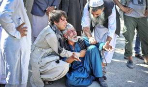 Afganistán: 12 muertos deja atentado talibán con coche bomba