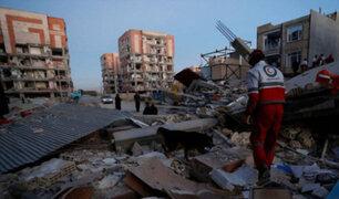 Irán: terremoto de 5.7 deja muerto y alrededor de 45 heridos