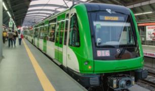 Línea 2 del Metro de Lima comenzará a operar desde febrero de 2021