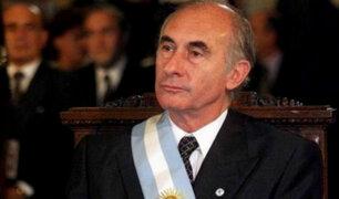 Fernando de la Rúa: expresidente de Argentina falleció a los 81 años
