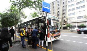 Paraderos instalados en eje vial Abancay-Manco Cápac presentarían deficiencias