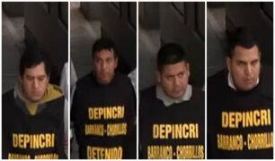 Chorrillos: capturan a cuatro sujetos que extorsionaban en obras de construcción