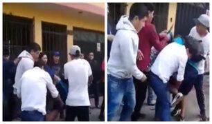 Santa Anita: vecinos casi linchan a delincuentes que robaron celular a una joven