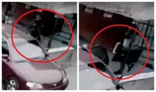 El Agustino: delincuentes roban artefactos de vivienda en cuestión de minutos