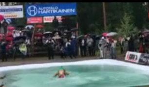 Tailandia: cientos de parejas turistas participan de excéntrica competencia