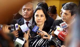 PJ realizó audiencia de tutela de derechos planteado por Nadine Heredia