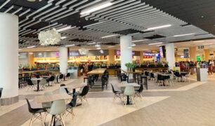 Aeropuerto Jorge Chávez culmina ampliación de patio de comidas