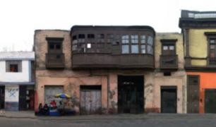 Balcones del Centro Histórico de Lima en riesgo de desaparecer