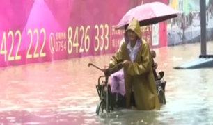 China: millones de personas damnificadas por las lluvias