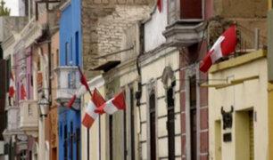Callao: multarán a vecinos que no coloquen banderas en sus viviendas