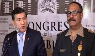 Morán respondió ante Comisión de Justicia por fuga de 'Goro'