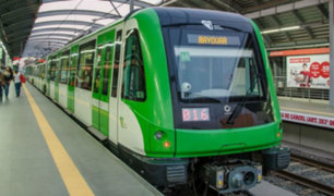 Metro de Lima: Línea 1 amplió su horario de atención solo por hoy