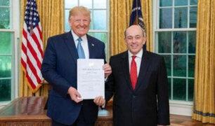 Donald Trump reconoció al Gobierno peruano por su trabajo en tema de la migración venezolana