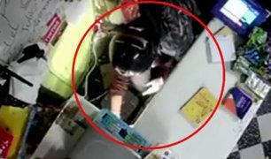 Callao: delincuente utiliza casco y guantes en robo para evitar ser reconocido