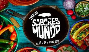 """Festival """"Sabores del Mundo"""" se realizará este viernes en Barranco"""