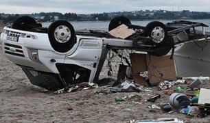 Muerte y destrucción dejó a su paso violento tornado en Grecia