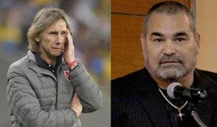Ricardo Gareca se pronunció sobre crítica de exfutbolista José Luis Chilavert