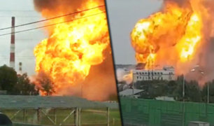 Rusia: incendio en central eléctrica deja un muerto y 13 heridos