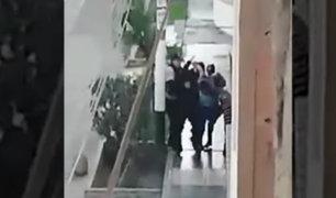 Los Olivos: trifulca entre serenos y ambulantes extranjeros acabó con varios heridos