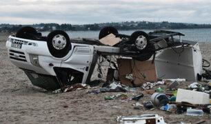 Grecia: paso de tormenta dejó al menos 7 fallecidos