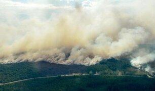 Ártico: más de 100 incendios incontrolados por elevadas temperaturas
