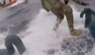 EEUU: difunden persecución a submarino que llevaba toneladas de droga