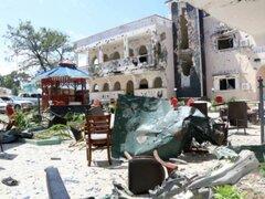 Al menos 26 muertos deja ataque terrorista a lujoso hotel en Somalia