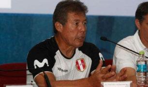 Preparador de arqueros Alfredo Honores no continuaría en la Selección