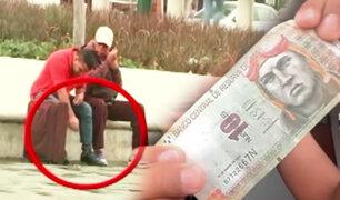 Experimento ASD: ¿Serías lo suficientemente honrado para devolver dinero encontrado en la calle?