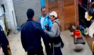 Ate: policía en retiro amenazó a fiscalizadores con su arma